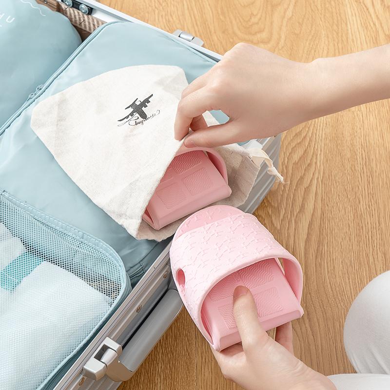 可折叠拖鞋便携式旅游防滑女男游泳超轻非必备神器出差旅行用品