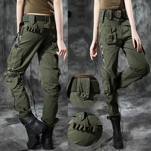 自由骑士户外军裤女多口袋工装裤男特种兵裤子大码休闲宽松战术裤