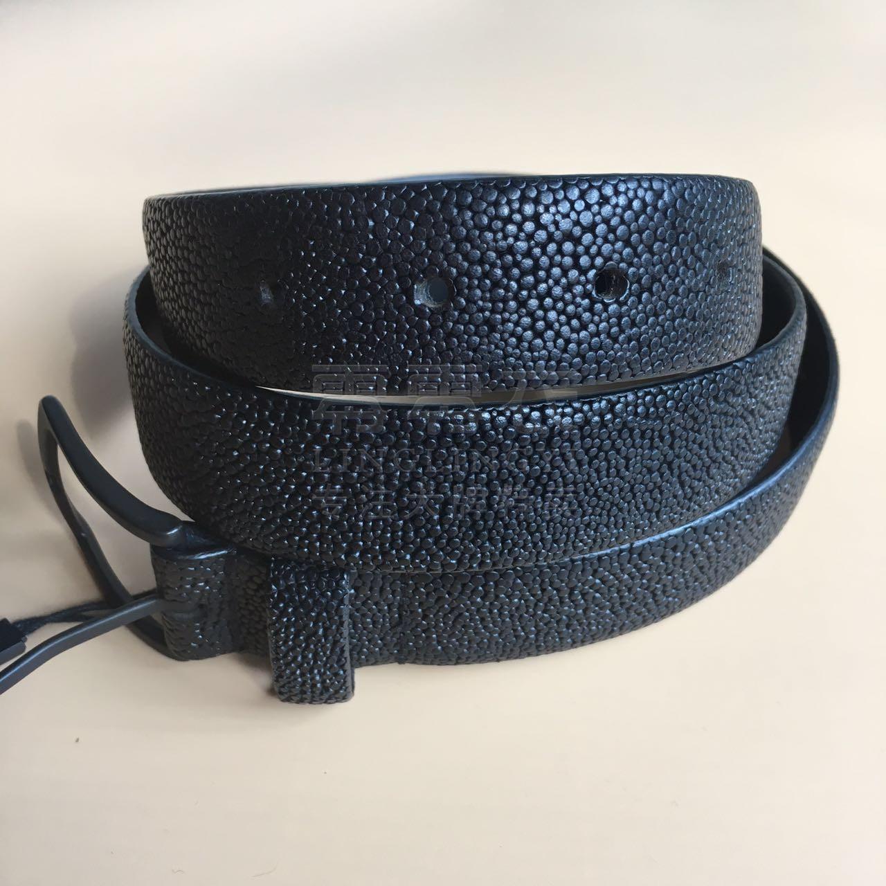 包邮 杰克琼斯男士意大利进口荔枝纹牛皮革腰带 做旧针扣皮带