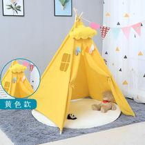 印第安帐篷儿童游戏屋宝宝家用室内房子玩具屋女孩公主小帐篷道具