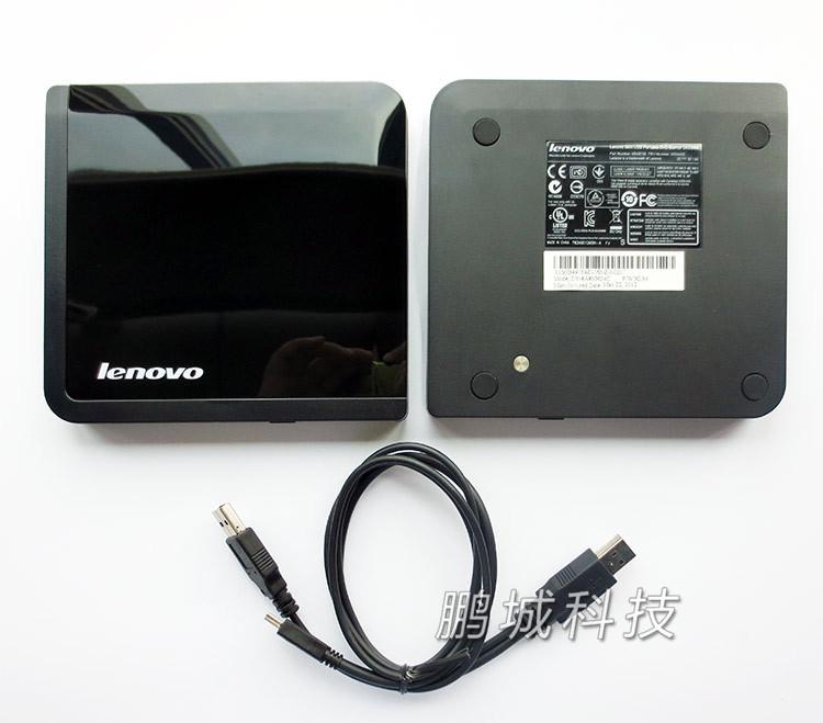 全新联想USB外置DVDRW光驱刻录机0A33988 移动DVD光驱刻录03X4432