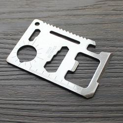 户外野营用品多功能军刀卡信用卡式卡片便携工具卡折叠刀