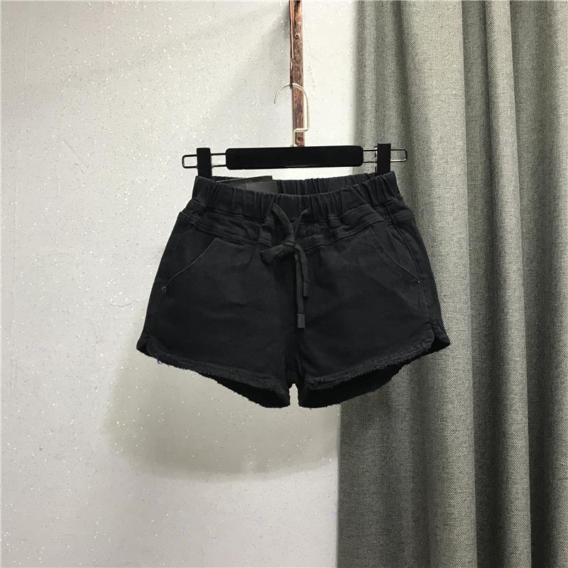 牛仔2021秋季新款欧货百搭阔腿裤