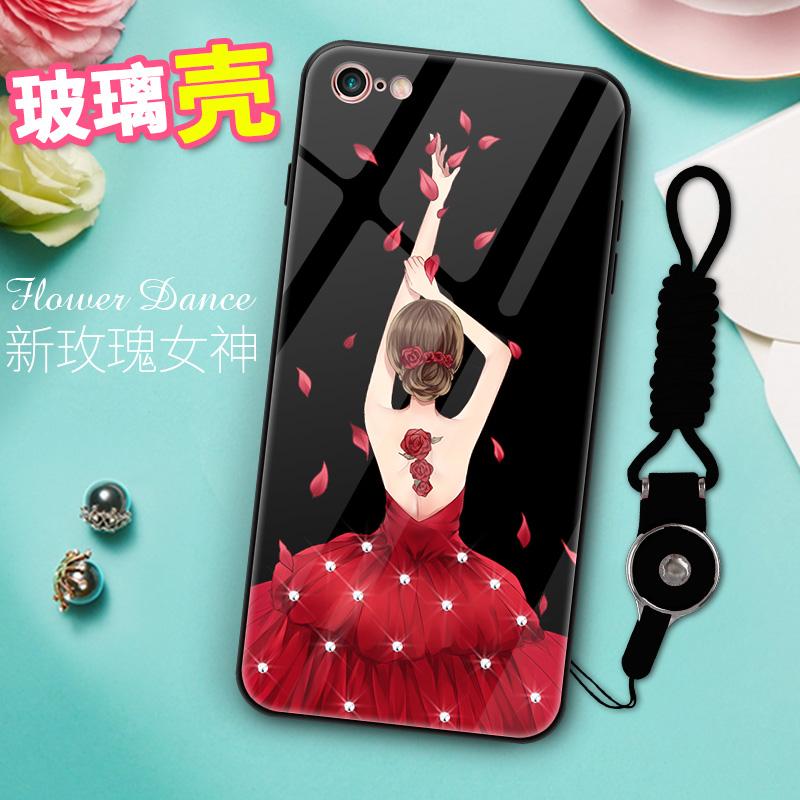 中國代購 中國批發-ibuy99 苹果6s 适用于苹果手机壳6plus女款iphone全包6s潮牌大气薄六plus玻璃超