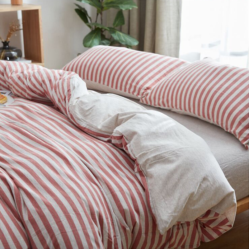 全棉床品 针织棉四套件 针织衫一样舒适的手感 有弹性的四件套