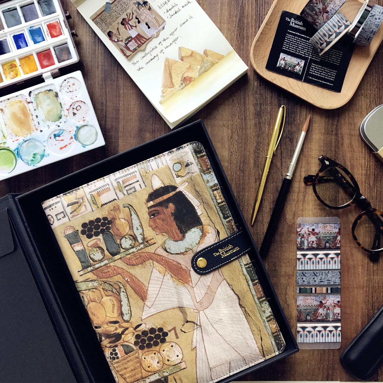 Утро канцтовары с отрывными листами этот костюм большой английский богатые вещь дом ноутбук таинственный египет серия HAPY0221 бесплатная доставка