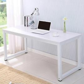 简易电脑桌简单家用简约现代办公白色桌子ins风长方形书桌写字台