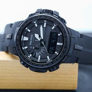 卡西欧光能电波男腕手表