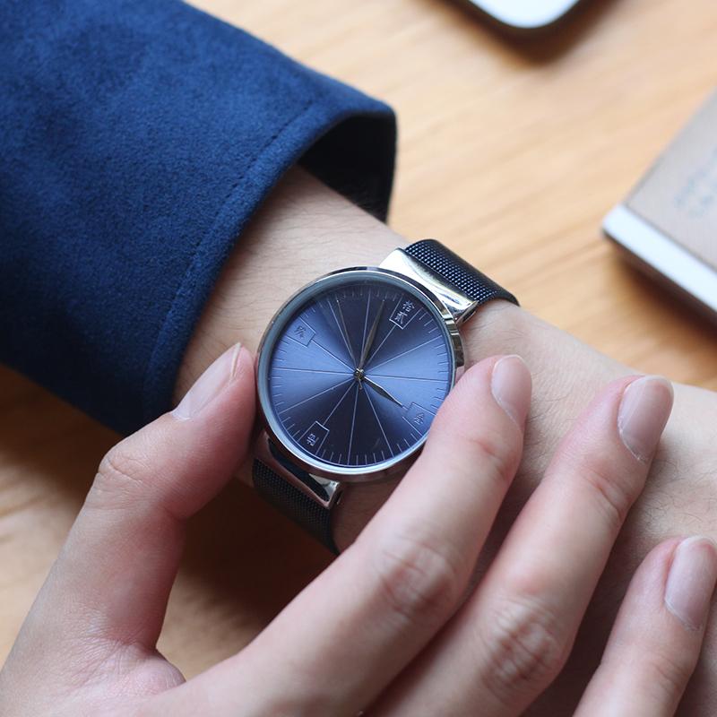 新中式潮流传统文化汉字原创设计情侣手表故宫汉字文创春节礼品