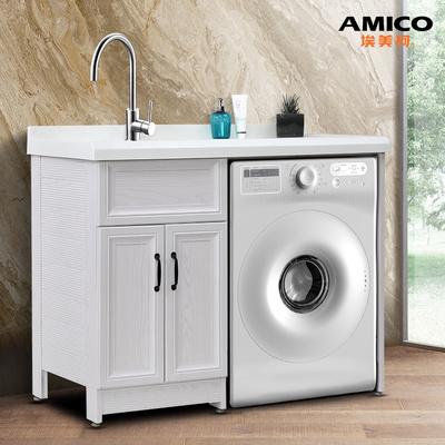 洗衣机一体柜感觉怎么样