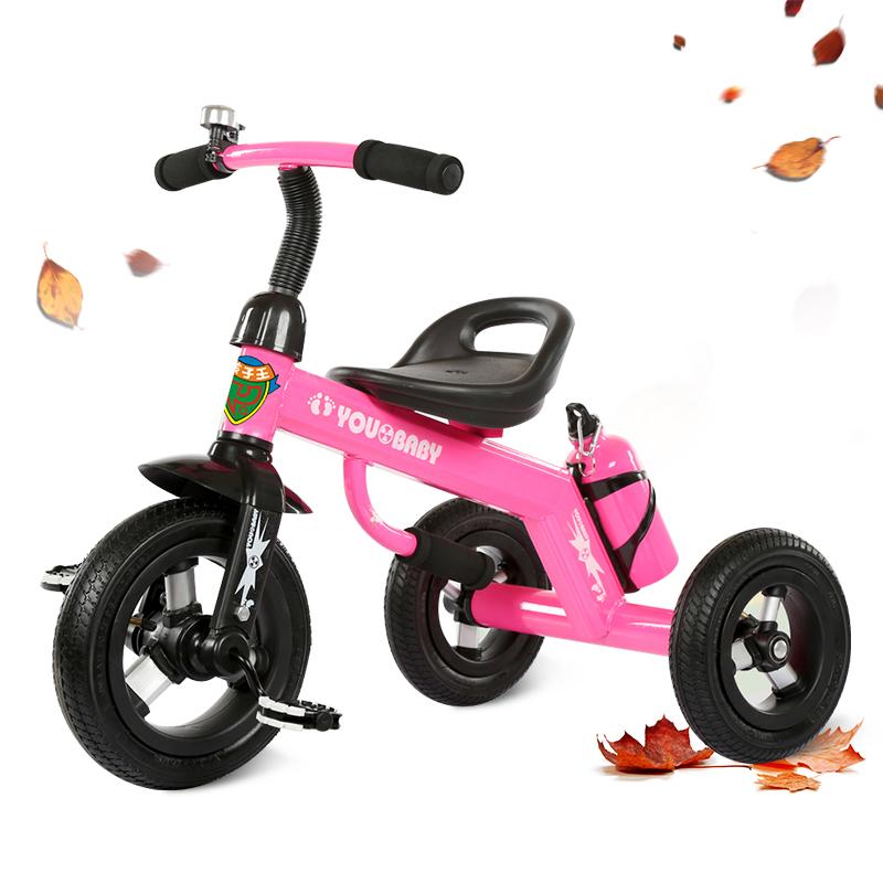 兒童三輪車自行車腳踏車寶寶手推車1~3~4歲嬰幼兒童車玩具車