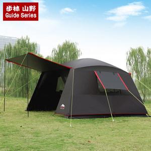 步林山野户外露营自驾烧烤帐大帐篷