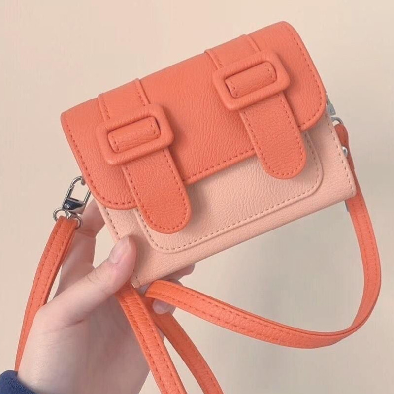 Cambridge bag 2020 new color matching small bag Korean simple fashion one shoulder messenger bag for women