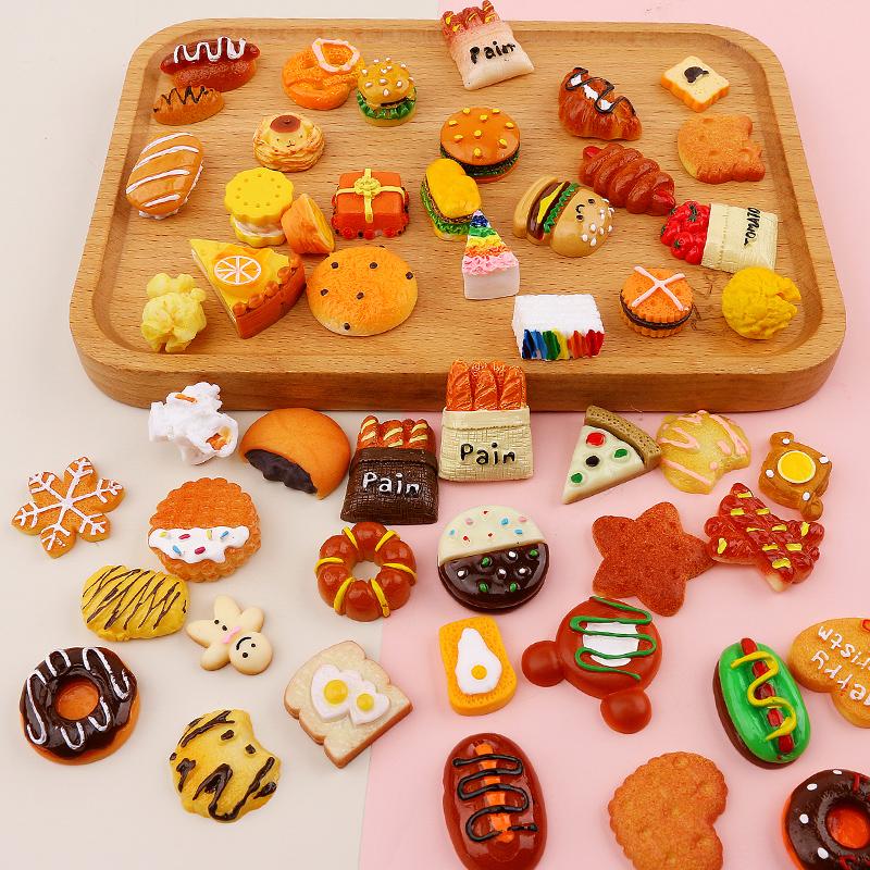 面包甜甜圈diy手机壳奶油胶蛋糕