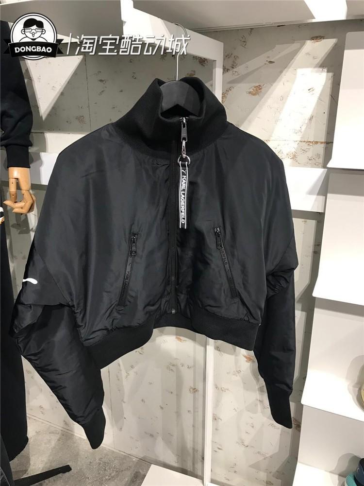 10月彪马PUMA X KARL BOMBER女子休闲运动外套夹克595564-01-74