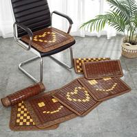 查看夏季办公室椅子座垫 餐椅垫夏天凉席垫子电脑椅沙发竹垫 麻将坐垫价格