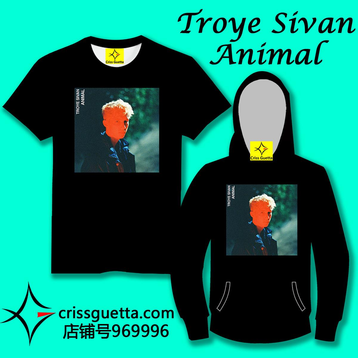 CG Troye Sivan Animal T恤短袖长袖卫衣服外套手机壳 oppo vivo