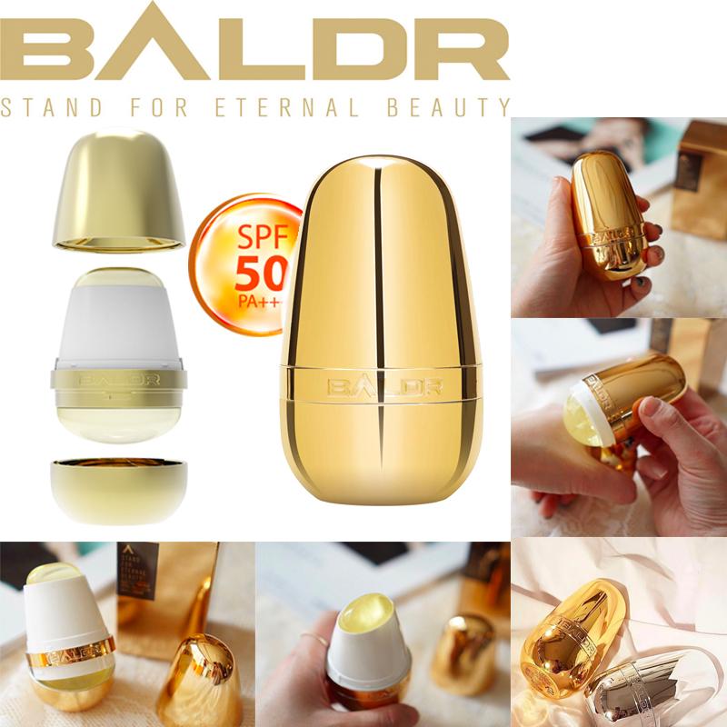 Star with Bader baldr sunscreen egg sunscreen stick basic gold skin care for men and women