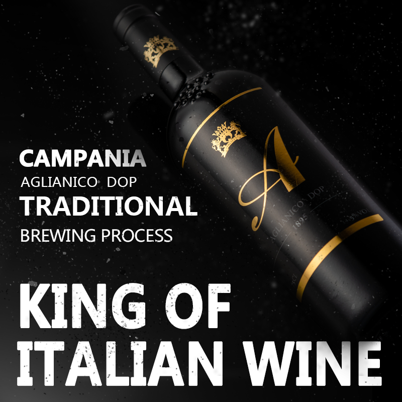 Italian original bottle imported red wine sweet dry red wine king agnico date wine dinner party wine