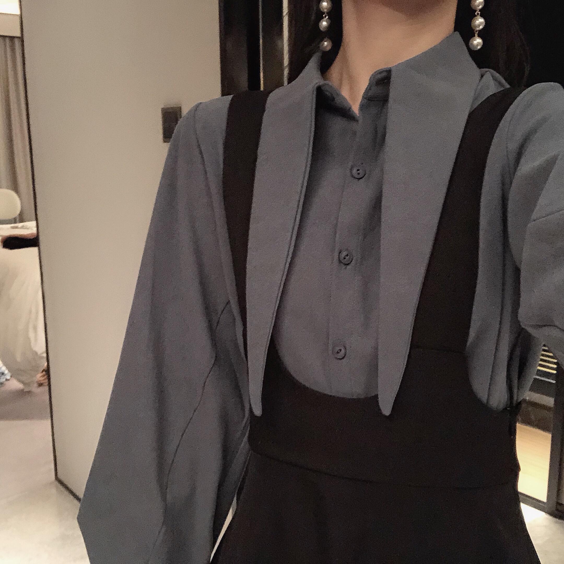 早秋连衣裙长袖法式春秋显瘦茶歇