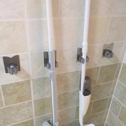 拖把挂钩挂架免打孔壁挂式浴室卫生间304不锈钢拖把架挂拖把神器