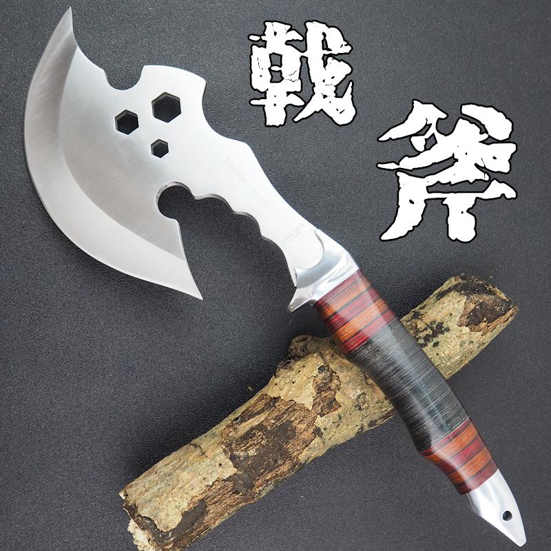 木工斧消防斧头刀砍伐斧砍树斧家用斩剁骨战斧野营开山大砍不锈钢