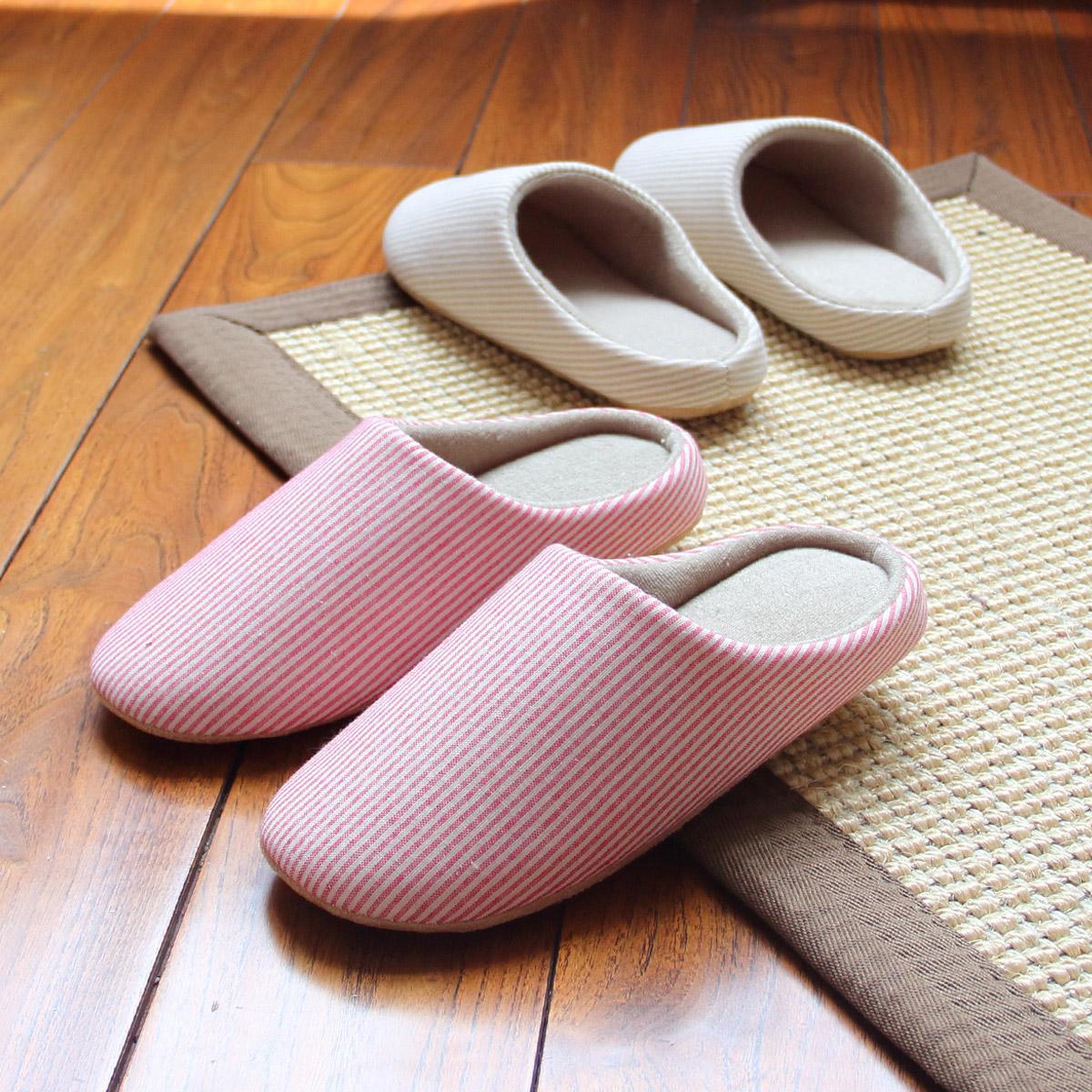 日韩式春秋木地板棉拖鞋冬季室内防滑静音情侣居家男女士保暖软底