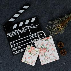 ins少女心香水饰品面膜服装打包装生日礼物清新文艺玫瑰小纸袋子
