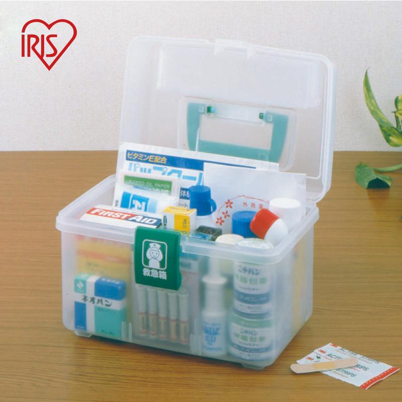 愛麗思IRIS 家庭醫藥箱可調節衛生儲藥箱塑料整理箱QB~180 150