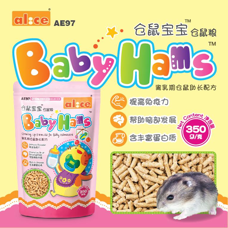 [小宠壹号饲料,零食]Alice艾妮斯仓鼠宝宝离乳期配方主月销量8件仅售17元