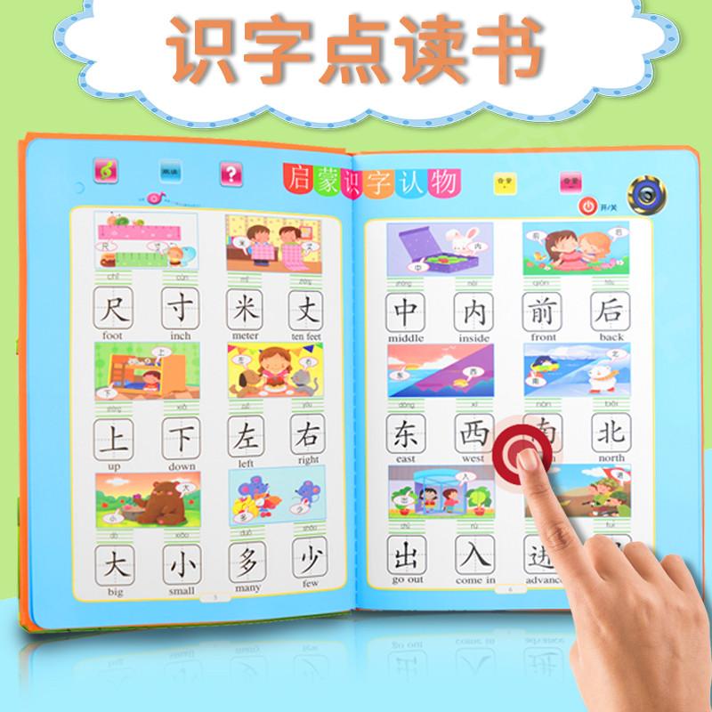 早教儿童识字卡片3000字启蒙幼儿园认字书神器有声挂图教具点读书