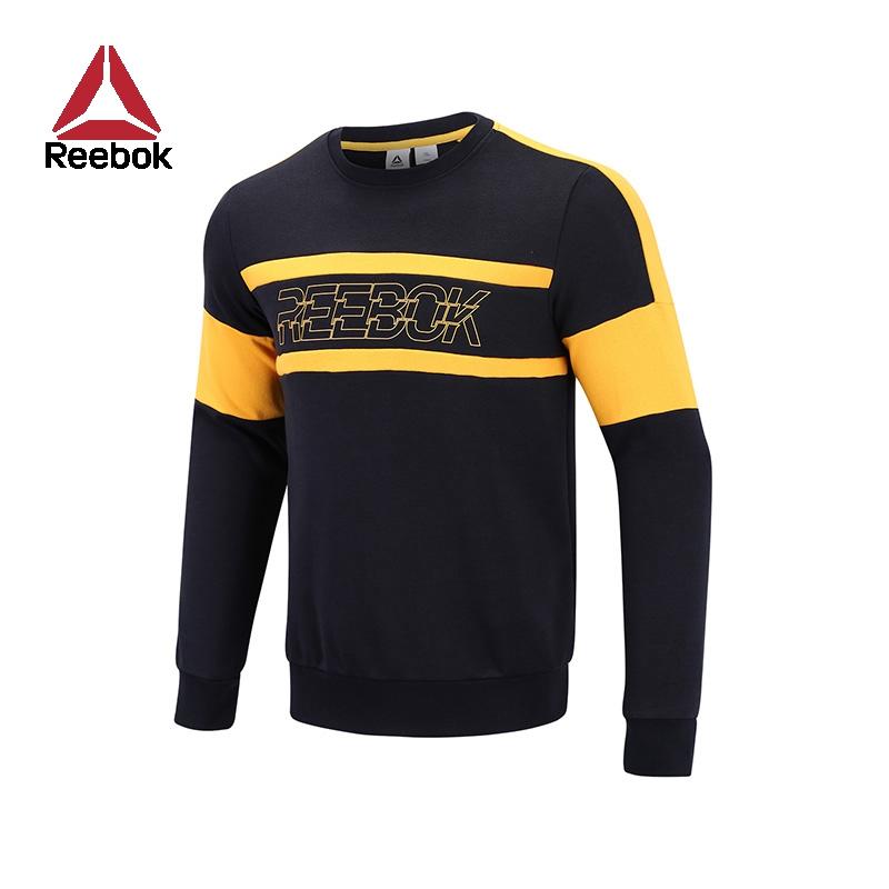 Reebok锐步官方运动健身CN KT CONTR BLOCK SWS男子训练卫衣FVW73