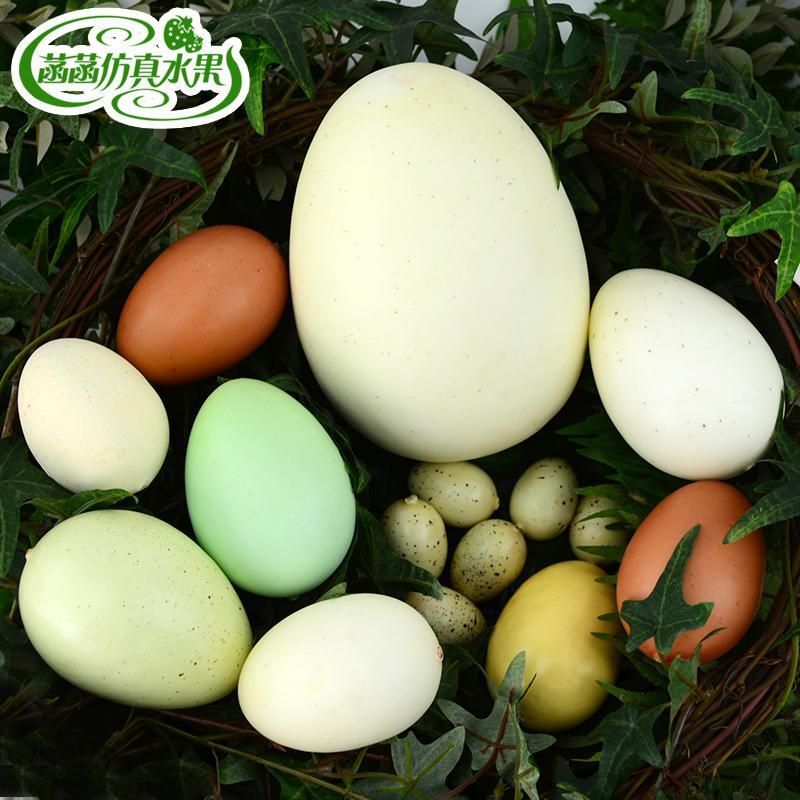 Моделирование яйца гусь яйцо утка яйцо страус яйцо яйцо динозавра перепел яйцо огромный яйцо ложный яйца модель кабинет окно фотография реквизит