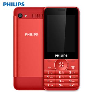 送卡套 Philips/飞利浦 E316直板老人手机移动大屏大字体老年手机