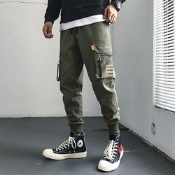 室内安 电商A088-K19446-P55 100%棉(含微量其他纤维) 休闲裤男装