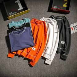 潮牌盒 电商A088-W17102-P35 52%棉48%聚酯纤维 秋装大码新款男装