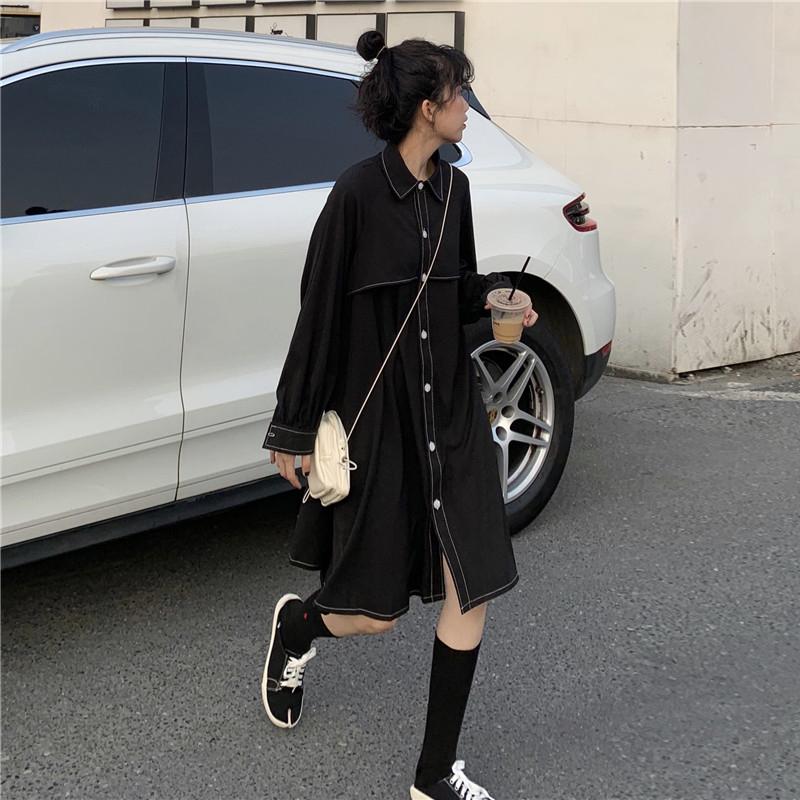 赫本风小黑裙矮个子高级感女连衣裙12-02新券