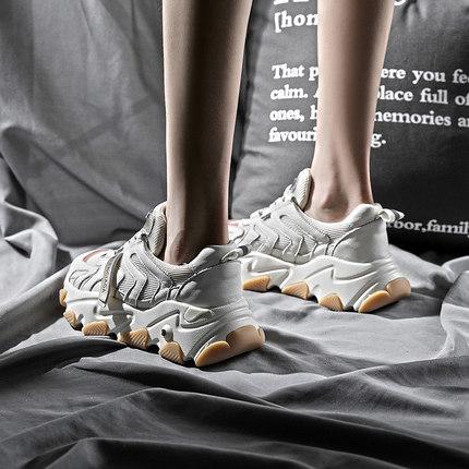 老爹鞋女ins潮2019新款鞋子增高图片