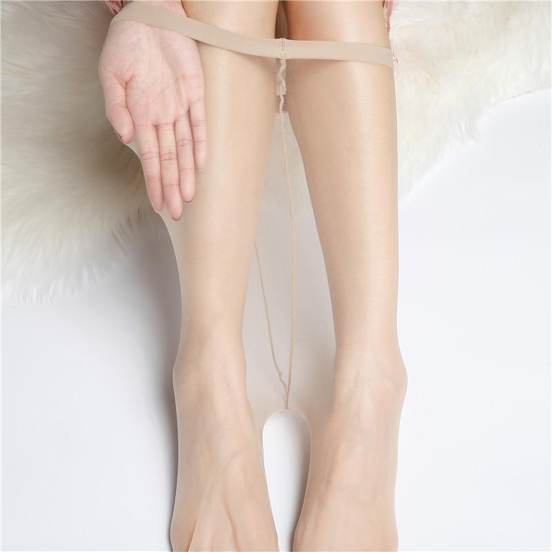 热销32件限时秒杀0d一线t档超薄隐形全透明女连裤袜