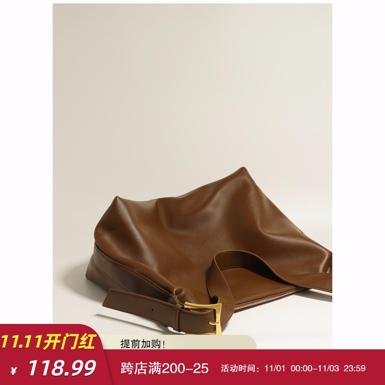 小优家包包 软塌极简风 单肩包大包2020新款包包女大容量斜挎包