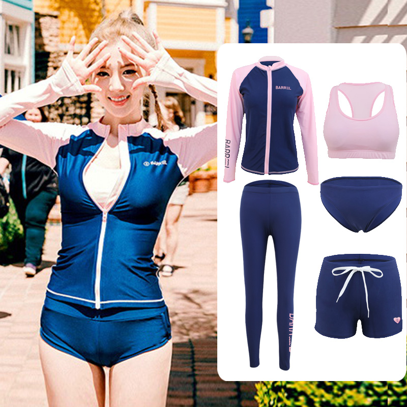 Корея любители дайвинг женская одежда поплавок скрытая мужской одежды трещина медуза одежда одежда быстросохнущие длинный рукав солнцезащитный крем установите плавать одежда