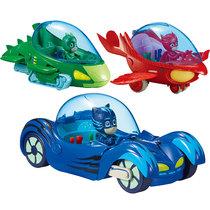 睡衣小英雄玩具豪华猫小子声光版猫车猫头鹰女鹰翔机飞壁侠机车