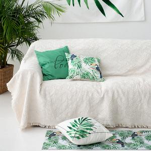 北欧沙发盖布沙发套罩沙发巾全盖通用沙发垫ins单人网红防尘罩毯