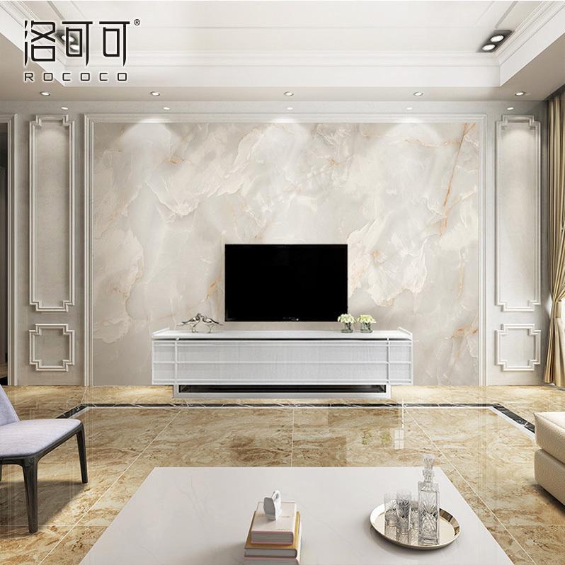 现代简约壁纸大理石纹电视背景墙壁纸客厅卧室电视墙定制墙纸墙布