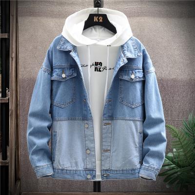男士工装外套春秋季2020新款痞帅潮流韩版牛仔棒球服夹克上衣