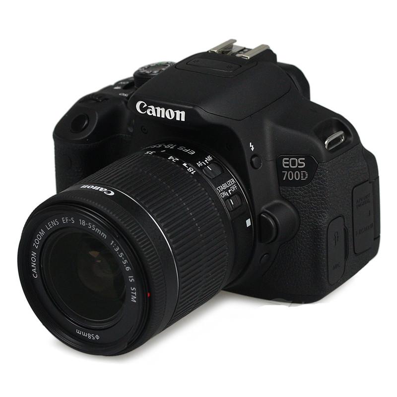 佳能数码单反相机EOS 700D套机含18-55STM镜头 高清专业入门单反