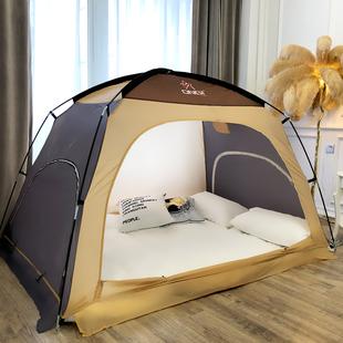 床上瑕疵帐篷室内超大防风保暖成人家用双人折叠大学生宿舍蒙古包图片