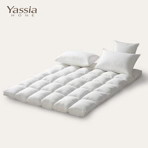 鹅毛羽绒床垫全棉保暖加厚1.5m/1.8米单双人床褥子垫被五星级酒店