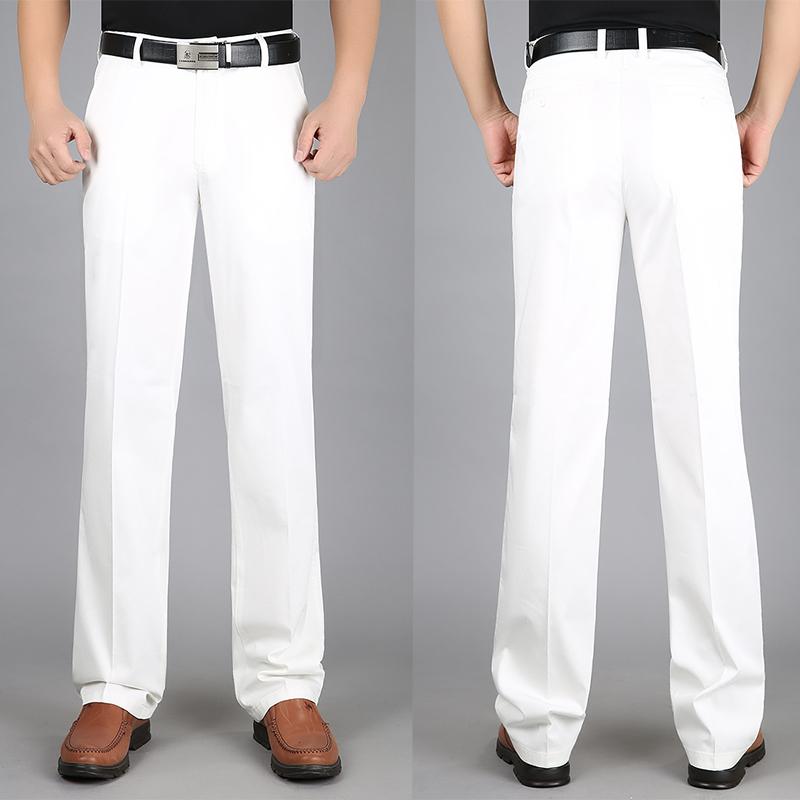 (用450元券)正品苹果纯棉白色男宽松高腰休闲裤