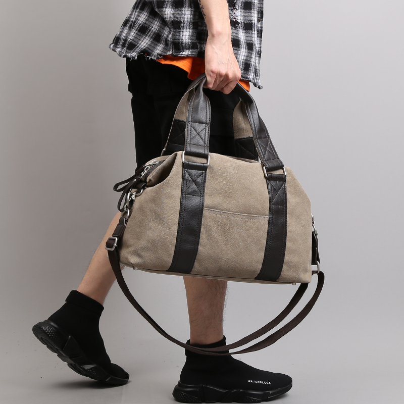Mens travel bag luggage bag leisure hand bag fitness BAG canvas mens Shoulder Bag Messenger Bag